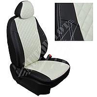 Чехлы на сиденья Chevrolet Captiva / Opel Antara с 06г. (Ромб Черный   Белый)