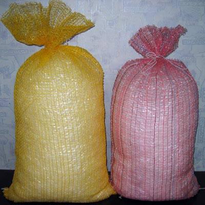 Овощная сетка на 40 кг (50х80 см) зеленая, фото 2