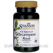 Девясил  SWANSON FULL SPECT ELECAMPANE 100MG (4:1)60 CAPS