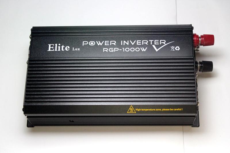 Автомобильный инвертор(преобразователь) Power Inverter ELITE lux DC-AC 24/220  1000 ватт