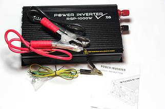 Автомобильный инвертор(преобразователь) Power Inverter ELITE lux DC-AC 24/220  1000 ватт, фото 2