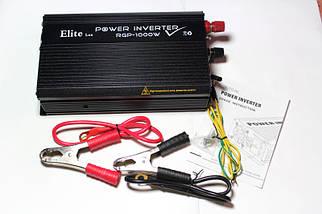 Автомобильный инвертор(преобразователь) Power Inverter ELITE lux DC-AC 24/220  1000 ватт, фото 3