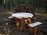 "Комплект стол+2 стула ""Леший"""