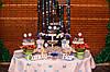 Кэнди бар для свадьбы в сине-белых тонах, фото 4