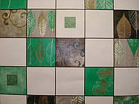 Обои влагостойкие мойка Листья 126-03 ярко-зеленый