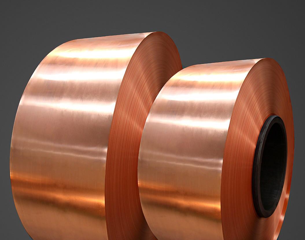 Фольга медная 0,02х230 мм медь марки М1 и М2 в наличии как твердая так