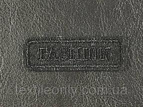 Нашивка Fashion цвет черный 50x18 мм