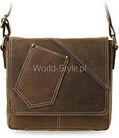 04-19 Коричневая мужская сумка Ninel