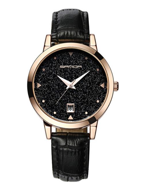 Женские часы Sanda P194B Black scale
