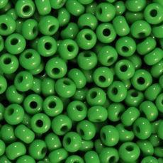 Бисер, № 217 / 53250, Размер №10, Цвет: Зелёный, Вид: Натуральный, Упаковка: 5 грамм