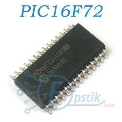 PIC16F72-I/SO, мікроконтролер 8-bit 16MHz, SOP28