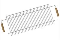 Решетка-гриль из нержавеющей стали для мангала на 10 шампуров Mousson R10
