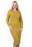 Вязаное платье — must have зимнего гардероба
