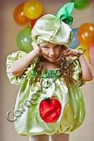 Карнавальный костюм Яблочко для девочки, фото 1