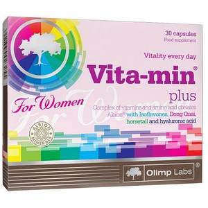 Витамины OLIMP Vita-min Plus For Women 30 caps