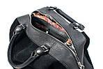 Кожаная сумка VS60  black 32х25х18 см, фото 5