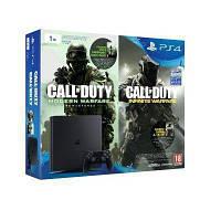 Игровая консоль SONY PlayStation 4 Slim 1TB + 2 игры