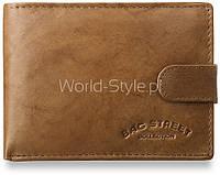 04-12 Коричневый мужской бумажник Mojra