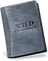 04-12 Серый мужской бумажник Kuonjamtiva