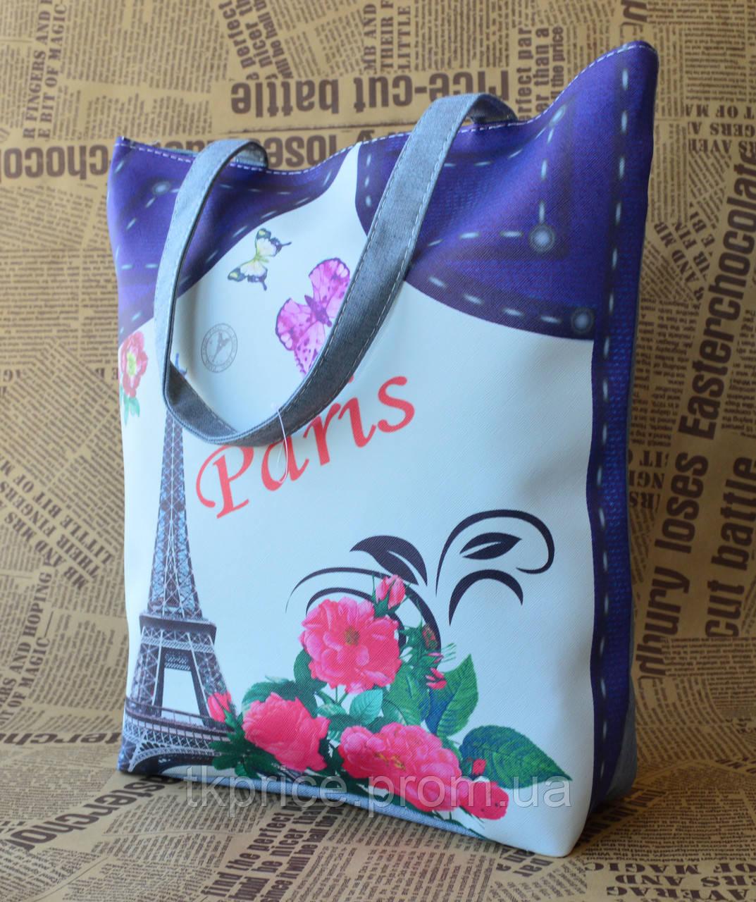 0938374a8f58 Стильная эко сумка города - Интернет-магазин