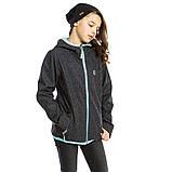 Демисезонная куртка для девочки SOFTSHELL NANO 1400 M S18 Dk Mouse Confe. Размер 100-144., фото 3
