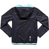Демисезонная куртка для девочки SOFTSHELL NANO 1400 M S18 Dk Mouse Confe. Размер 100-144., фото 2