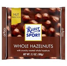 Шоколад  Ritter Sport Voll-Nuss молочный с цельным орехом 100г