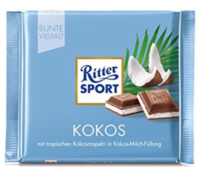 Шоколад Ritter Sport молочный кокос 100 г