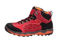 04-22 Красные зимние женские ботинки NCW-160445 38,37,36
