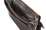 Кожаная сумка VS78 crazy horse 33х28х9 см, фото 5
