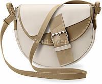 04-19 Бежевая женская сумка деловая декоративная пряжка 5902734917911