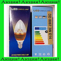 Энергосберегающая лампа DD 8067 3W E14!Акция