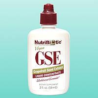 NutriBiotic, Жидкий концентрат GSE, с экстрактом семян грейпфрута, 2 жидкие унции (59 мл)