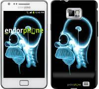 "Чехол на Samsung Galaxy S2 i9100 Гомер. Томография ""652c-14-6129"""