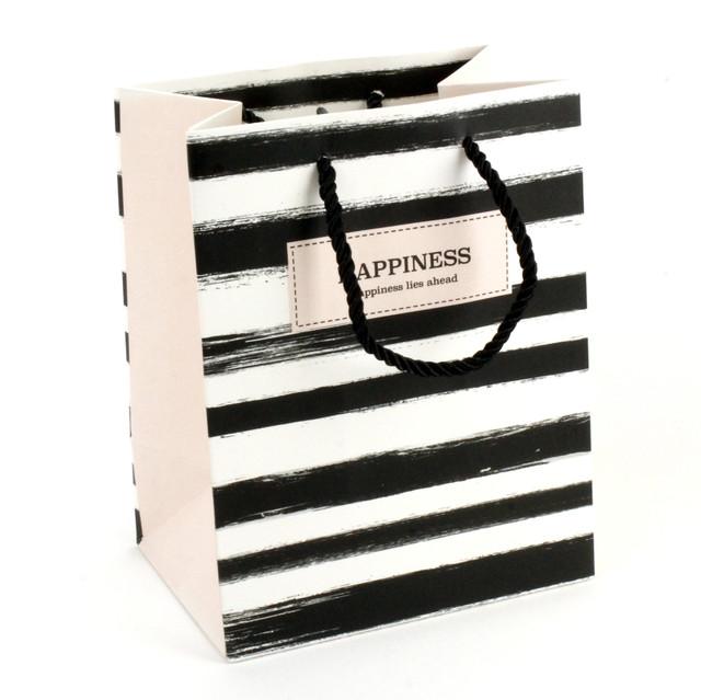 Подарочный пакет Happiness 14 x 15x 7см
