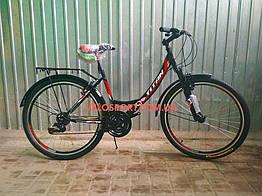 Городской велосипед Titan Elite 26 дюймов черный