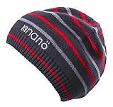 Демисезонная шапка для мальчика NANO 251 TUT S18 Smokey Gray. Размер 12/24-7/12., фото 2
