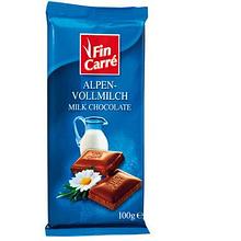 Шоколад Fin Carre молочный 100г