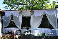 Пошив и навес штор,гардин для летних кафе,веранд,терасс