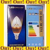 Энергосберегающая лампа DD 8067 3W E14!Опт