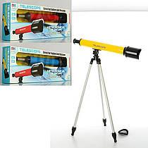 Дитячий навчальний набір - телескоп, розмір телескопа 53 см, штатив 57 см, 3 кольори, 6609A