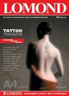 LOMOND Tattoo Transfer для нанесения временных татуировок, А4, 10 листов