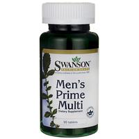 Витамины для мужчин, SWANSON MULTI MEN'S PRIME 90 TABS