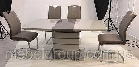Стол TM-50-1 капучино+латте 120/160x80, фото 3