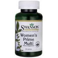 Витамины для женщин серьезные ПРЕМИУМ  SWANSON MULTI WOMEN'S PRIME 90 TABS