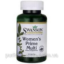 Витамины для женщин, Swanson Multi Women's  Prime 90 tabs