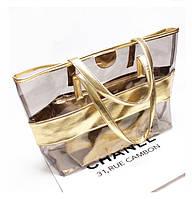 Набор прозрачных сумок для пляжа СС3515