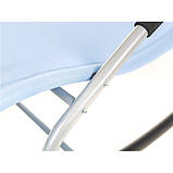 Лежак крісло качалка BERGAMO Blu, фото 5