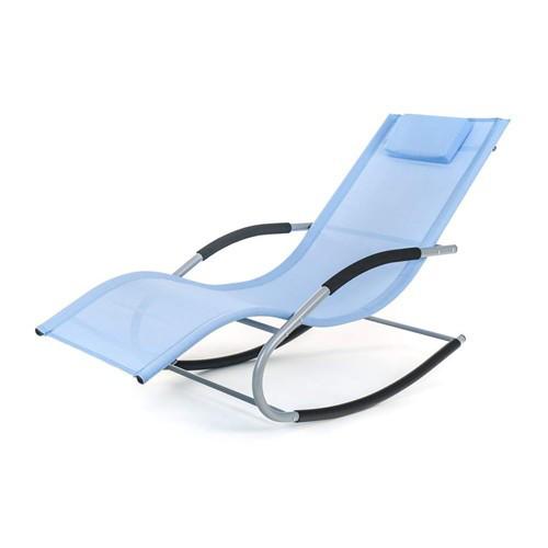 Лежак крісло качалка BERGAMO Blu