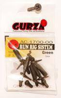 """Оснастка Gurza """"Run Rig System"""" для геликоптера, резина, длина 3см, оснастка Gurza для заброса снастей на дальние расстояние, карповый аксессуар"""
